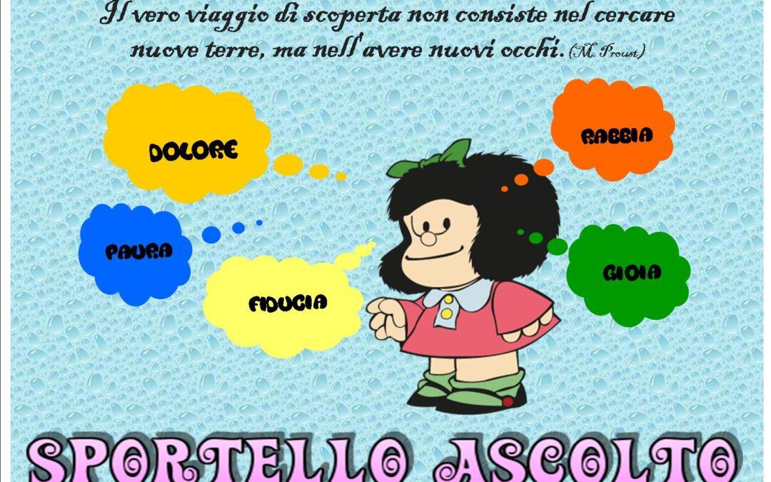 ATTIVAZIONE SPORTELLO D'ASCOLTO