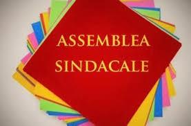 ATTENZIONE!!! ASSEMBLEA SINDACALE DEL 26/10/2020