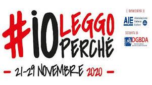 INIZIATIVA DI PROMOZIONE ALLA LETTURA #IO LEGGO PERCHE'