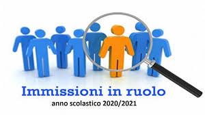 Procedura informatizzata immissioni in ruolo a.s. 2020-2021