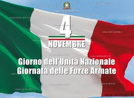 4 novembre: Giorno dell'Unità Nazionale e Giornata delle Forze Armate – Lettera del Sindaco alle scuole